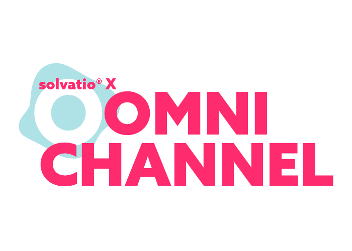 solvatio X omni channel logo