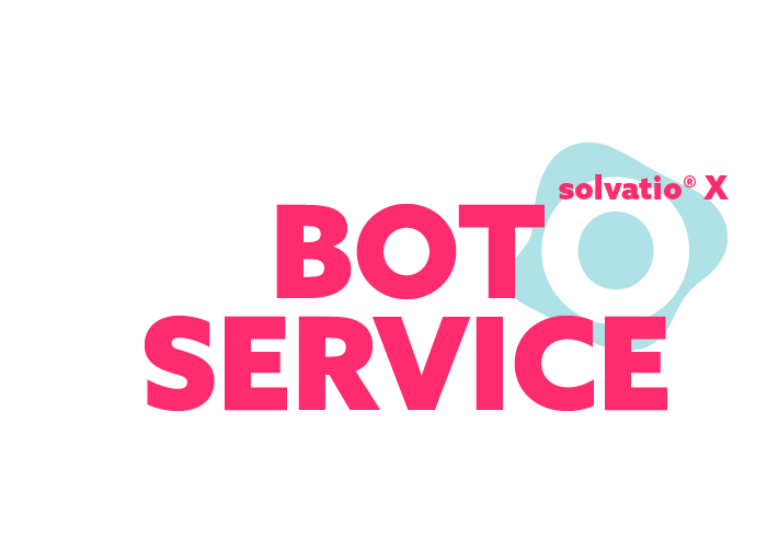 solvatio X bot chatbot voicebot logo right