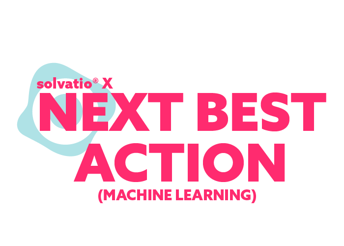 solvatio X next best action machine learning logo left