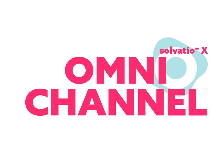 solvatio X omni channel logo right