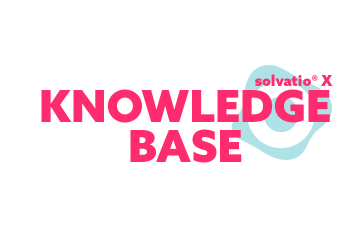 solvatio X knowledgebase logo right